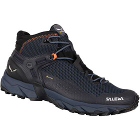 SALEWA Ultra Flex 2 GTX Mid Shoes Men, black out/red orange